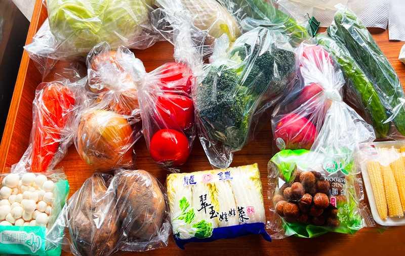 「鄰家鮮生」與「LINE TAXI」合作推出700元「安心快送蔬果箱」。(圖/LINE TAXI)