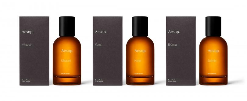 Aesop Othertopias 虛實之境香水系列(含盒)/5,600元(圖/品牌提供)