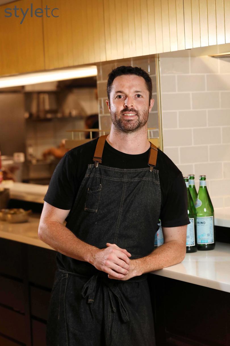 來自澳洲的主廚Kai Ward,為新開幕的CANVAS主理人。(圖/于魯光攝)