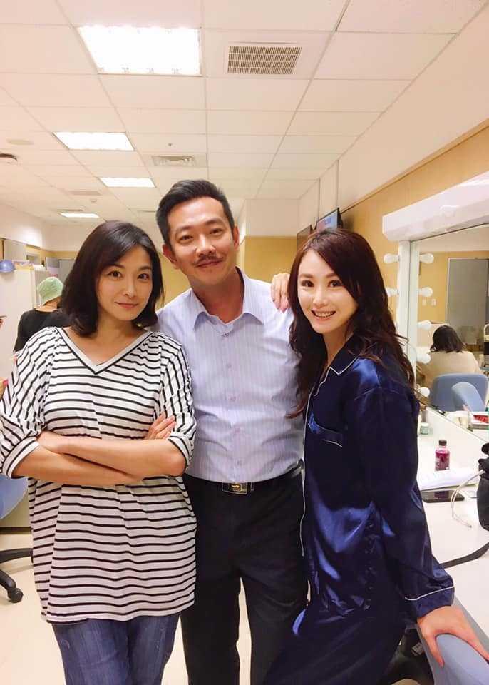 陳妍安在《大時代》中成功詮釋反派角色。(圖/翻攝臉書)