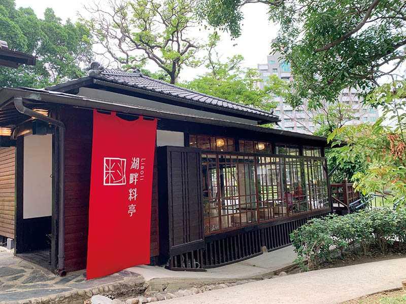 現在民眾可以自由踏入古色古香的日式料亭,享用美食、休憩片刻。(圖/官其蓁攝)