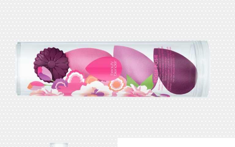 beautyblender原創美妝蛋心花盛放限定組/1,790元(圖/品牌提供)