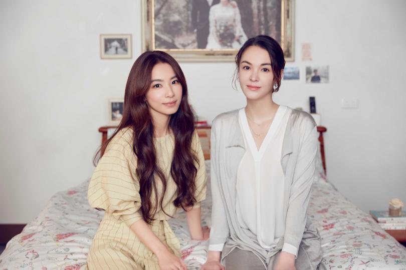 Hebe(左)新歌MV邀來張榕容(右)跨刀主演。(圖/何樂音樂提供)