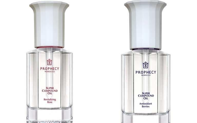 Prophecy Morocco 鉑翡斯超級複方油 玫瑰煥顏28ml / 2,980元、超級複方油 莓果亮采28ml /2,980元(圖/品牌提供)