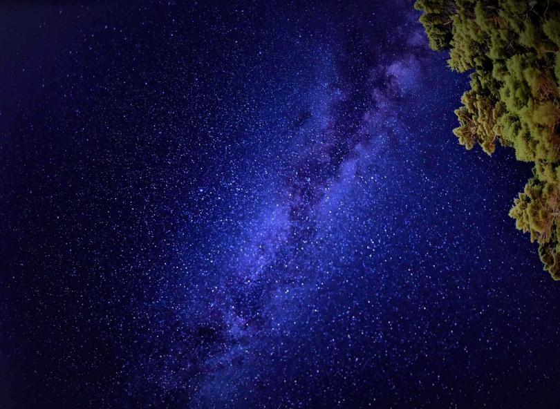 合歡山是全台追星族首推的高山觀星景點。(圖/林務局提供)