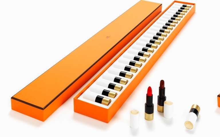 HERMES鋼琴24色唇彩禮盒/54,000元(圖/品牌提供)