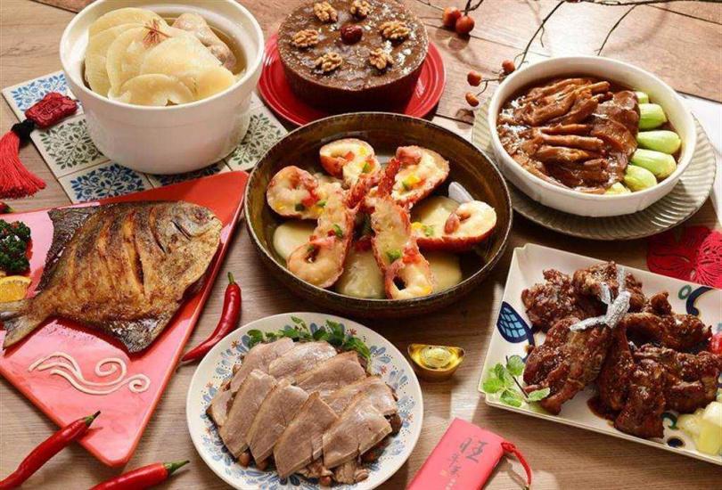 圖為神旺大飯店年菜組。圖片來源:台北神旺飯店