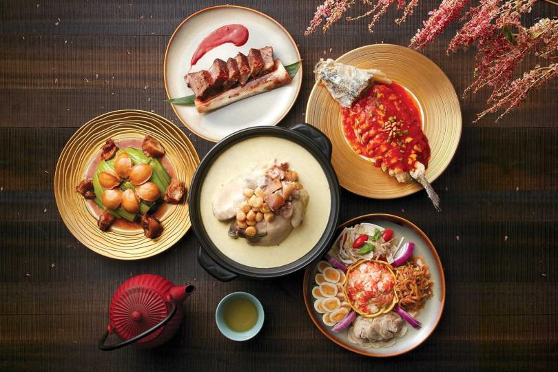 圖為「萬喜迎春年菜套餐」。圖片來源:台北喜來登