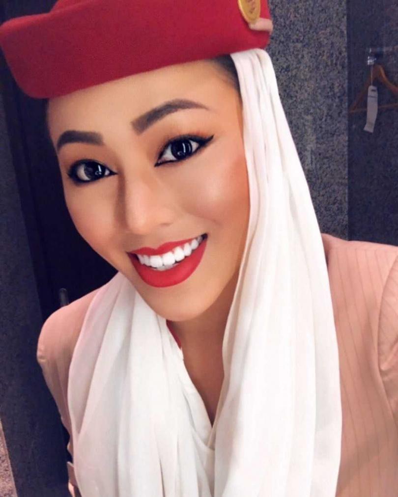 曾在阿聯酋航空任職空服員4年半時間,熱愛旅行的邦妮趁職務之便,迄今已造訪了全球超過80個以上的國家。(圖/媒體棧提供)