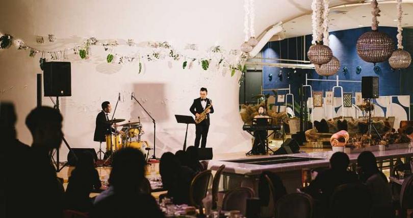 眾樂樂劇場夜Live Band現場。