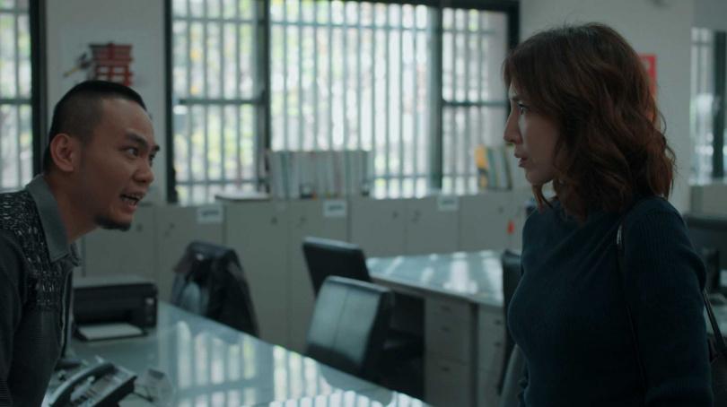 楊大正表示楊謹華氣場強大,跟她對戲「感覺好像被打假的」。(圖/公視提供)