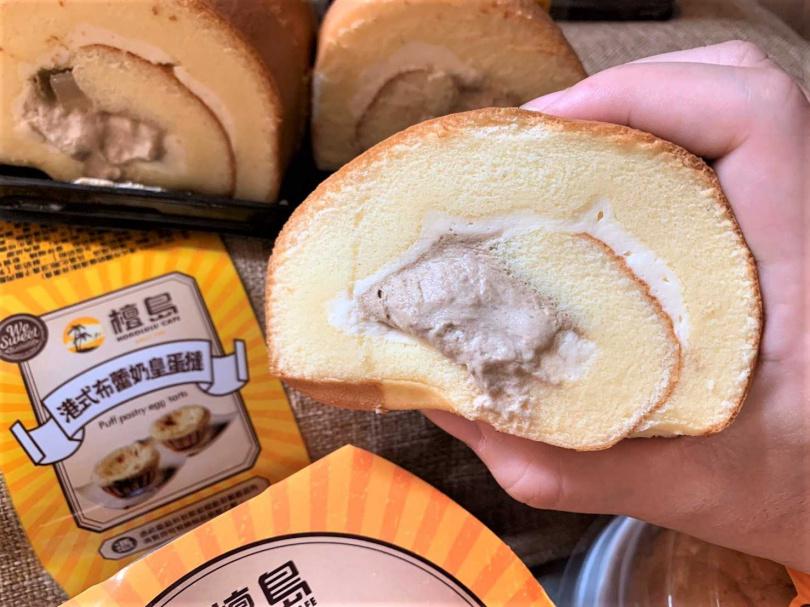 凍檸茶冰心捲蛋糕(特價4入89元)(圖/官其蓁攝)