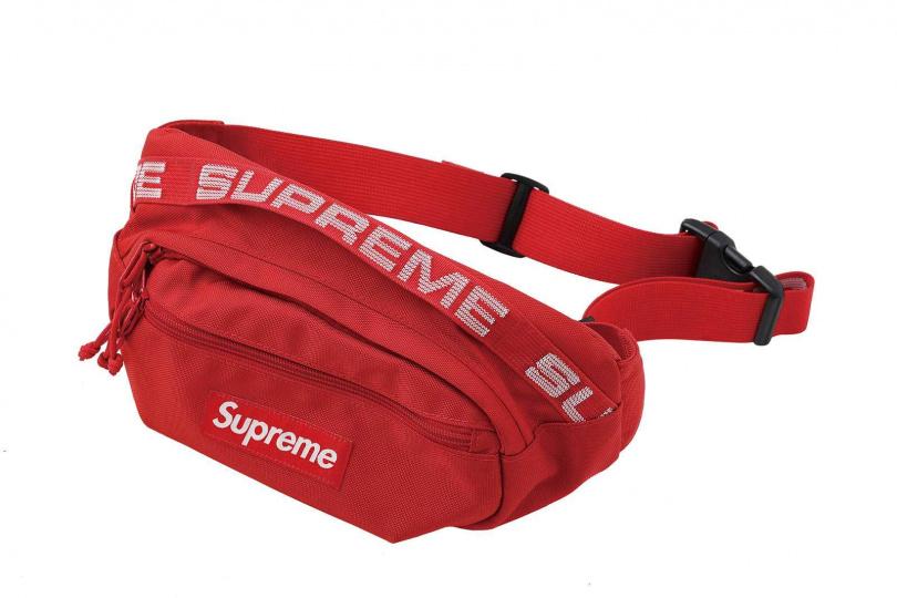 Supreme 18SS 44TH Waist Bag腰包/約4,000元(網路代購)。(圖/戴世平攝)
