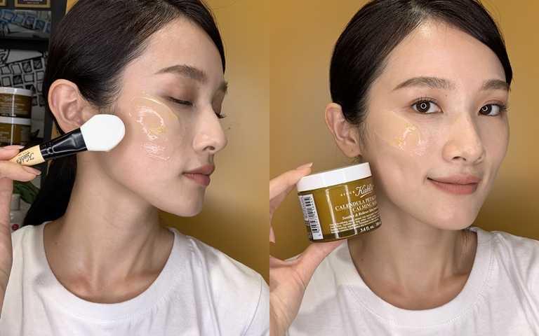 """就像是奶霜般的""""水凝凍膜質地"""",膚觸很清爽又能夠完美服貼臉部肌膚弧度,超適合夏天使用。(圖/品牌提供)"""