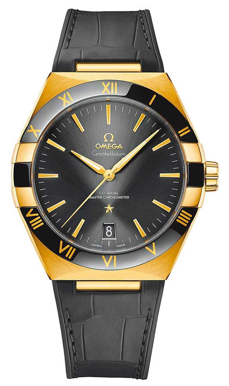 OMEGA「Constellation星座」系列同軸擒縱大師天文台腕錶,41mm╱700,000元。(圖╱OMEGA提供)