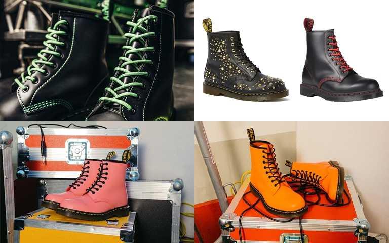 Dr. Martens經典1460鞋款今年推出全新配色展現個性。(圖/Dr. Martens)
