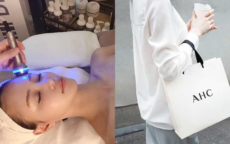 來自韓國的醫學美容保養品牌AHC,已經成為韓國5000家醫美診所指名御用的合作品牌,證明它的醫美術後修復效果真的很安全又有感。(圖/IG@shuvly1023、IG@ahc.official)