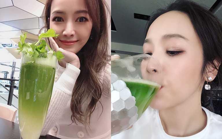 圖/不敢單喝好油的人,就學侯佩岑加進蔬果汁裡也是好方法。(圖/翻攝侯佩岑IG)