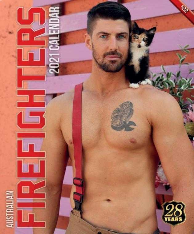 圖片來源:Australian Firefighters Calendar