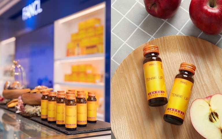現在市面上最有口皆碑的膠原蛋白營養補充品,當然就是FANCL的三肽膠原蛋白美肌飲料!因為分子細小,又含有維他命C、維他命E、蘋果多酚,飯後或睡前來上一瓶,有助抗氧化維持肌膚水嫩度。(圖/品牌提供)