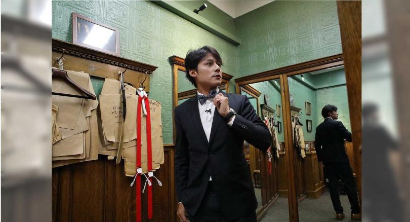 店家也原封不動的將《金牌特務》中的場景保留,供影迷參觀。(圖/亞洲旅遊台提供)