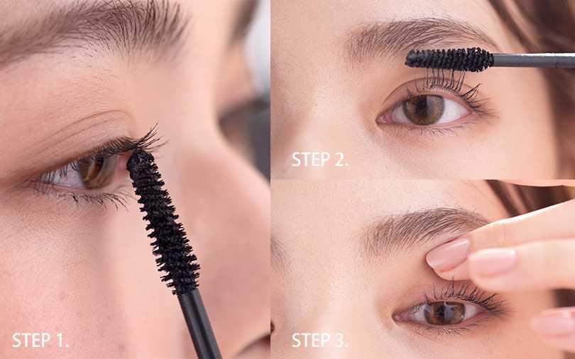 睫毛想刷出自然綻放感,有分區域訣竅還需用點耐心刷。(圖/二月號愛女生)