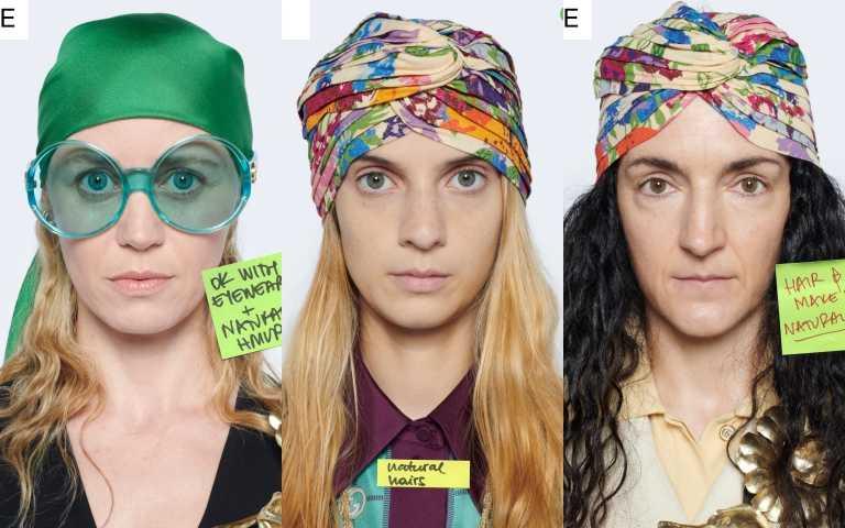 頭巾是GUCCI的精神象徵。(圖/品牌提供)