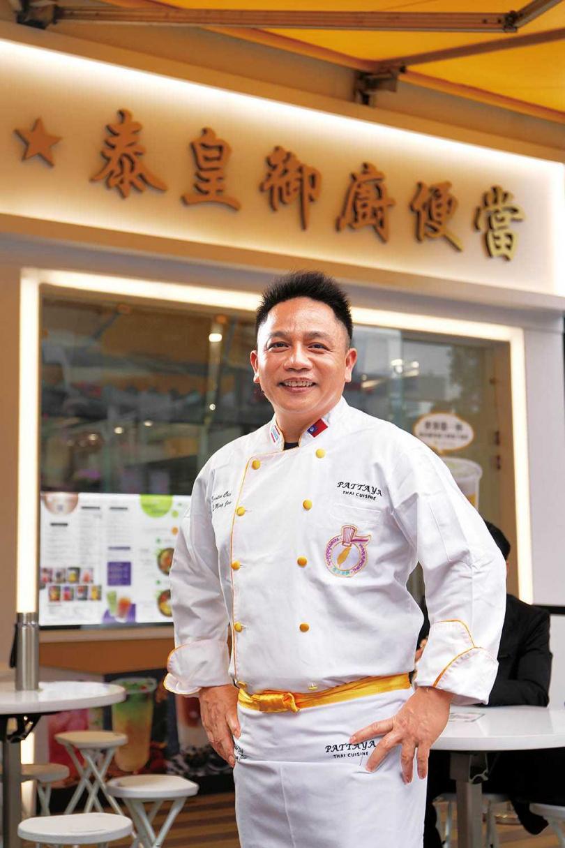 阿明師是名氣響叮噹的泰國料理名廚,不但出書、上節目,也時常擔任客座主廚。(圖/于魯光攝)