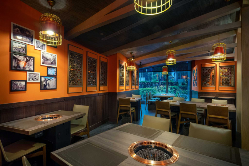 「胡同裏的蘭」八道式套餐每位1,880+10%元,僅有20個座位。