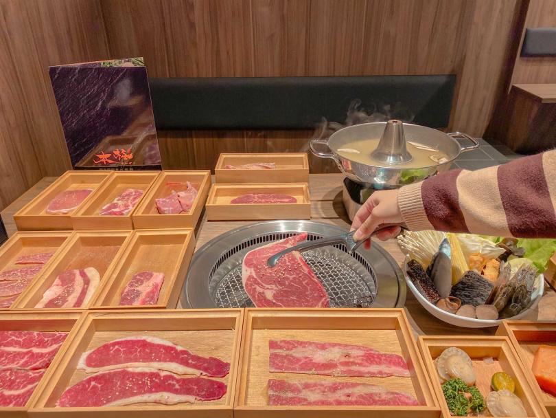 吃燒肉還能選口味,「椒鹽麻油」和「醬燒炭香」,就看你愛哪一款!(圖/eat_allen)
