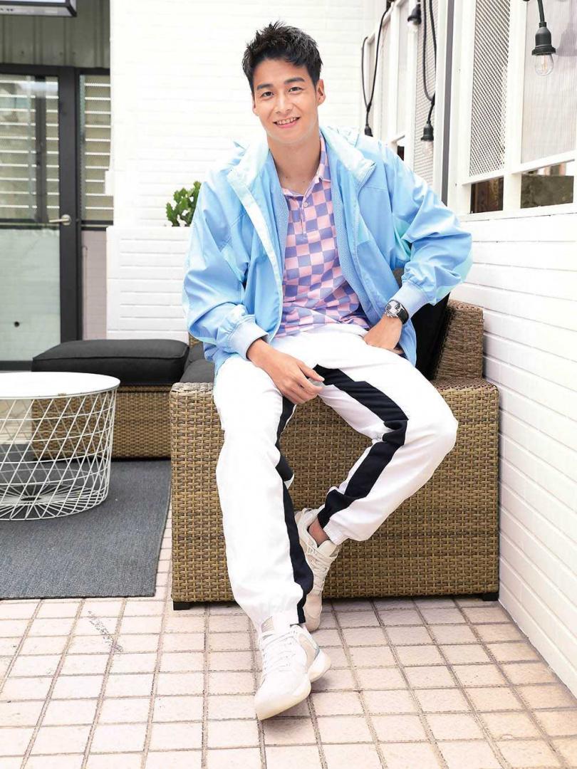 單身12年的林敬倫,自認是個浪漫男友,只是現在休息時間少,暫時沒有心思談戀愛。(圖/戴世平攝)