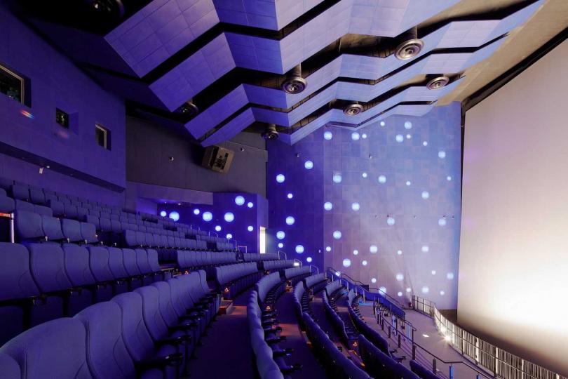 國立海科館3D海洋劇場。