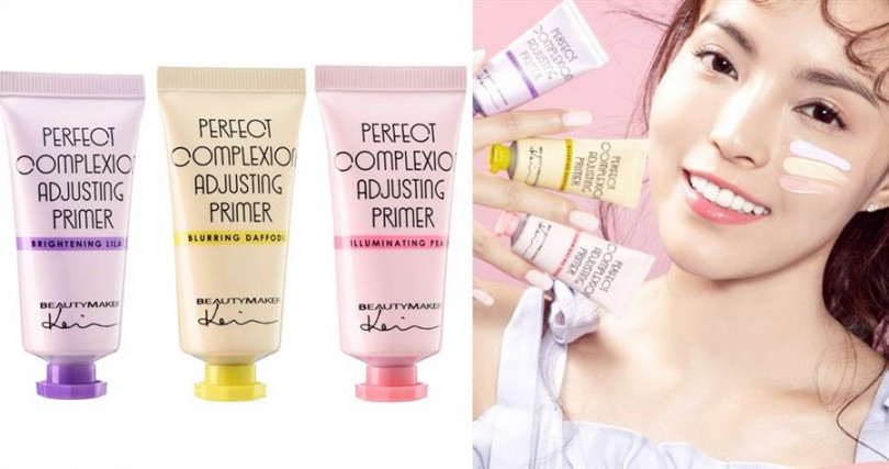 BeautyMaker美顏修修校色飾底乳 #明亮粉紫、#柔焦粉黃、#閃耀蜜桃/350元  小編建議像這類校色飾底乳可以局部搭配使用,還能打造更立體臉型喔。(圖/品牌提供)