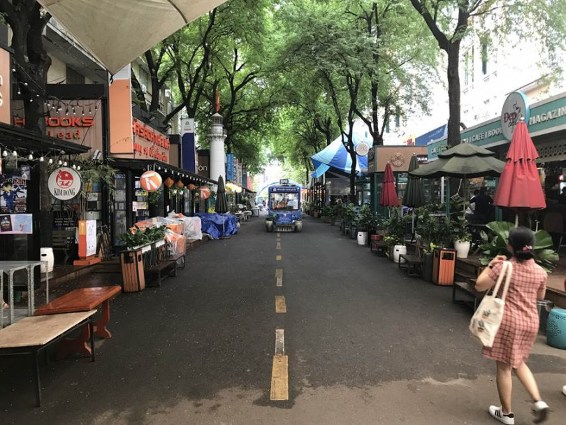 充滿文青風的書店街,除了書店外還有許多咖啡廳及文創商店,十分適合度過下午的悠閒時光。