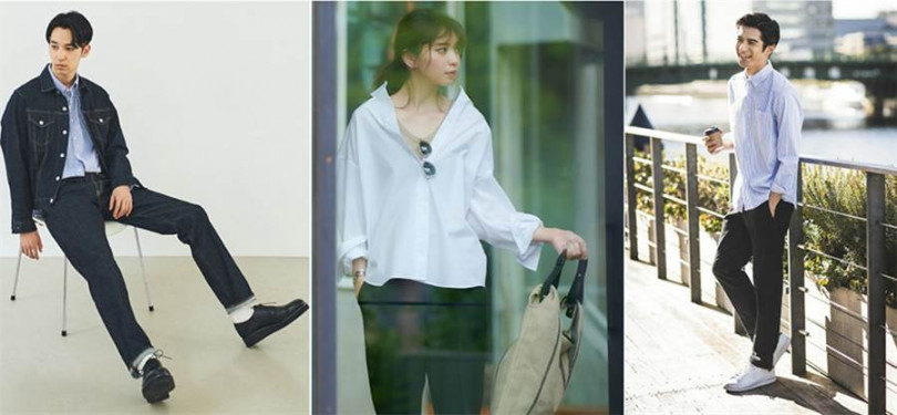 網美度假模式也難不倒UNIQLO,男女裝有型搭配隨時就是網美、網帥。