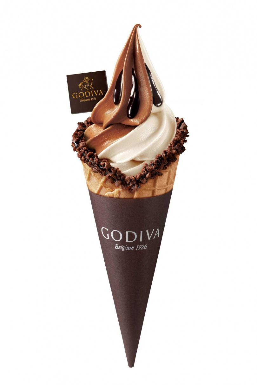 雙重巧克力霜淇淋。