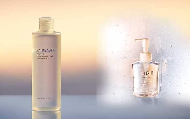 現在的卸妝產品不只講求清潔度,有「保養成分」的添加更是卸妝品的基本盤。(圖/KAIBEAUTY,ELIXIR提供)