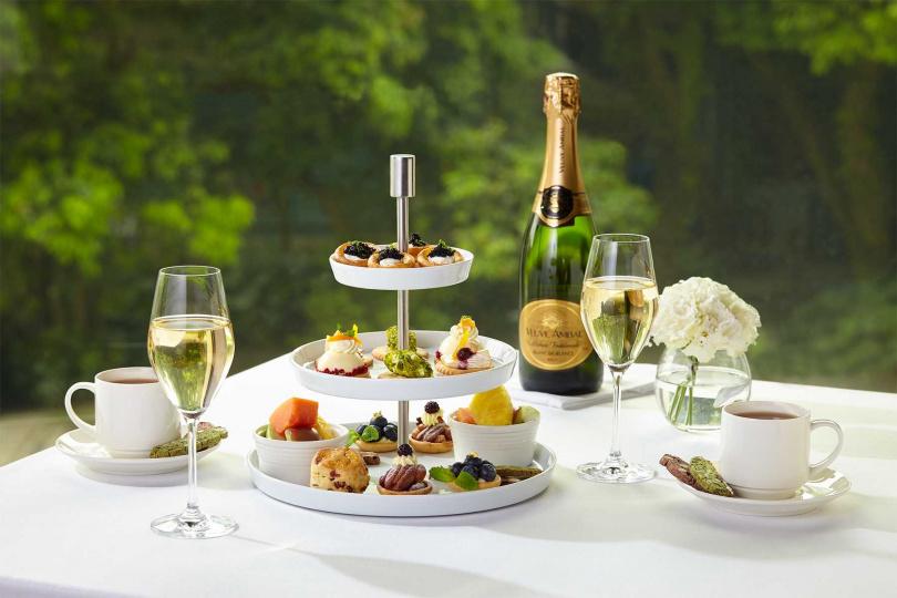 午茶由點心房與西餐主廚共同打造,讓消費者享受有如女神般的款待與寵愛。