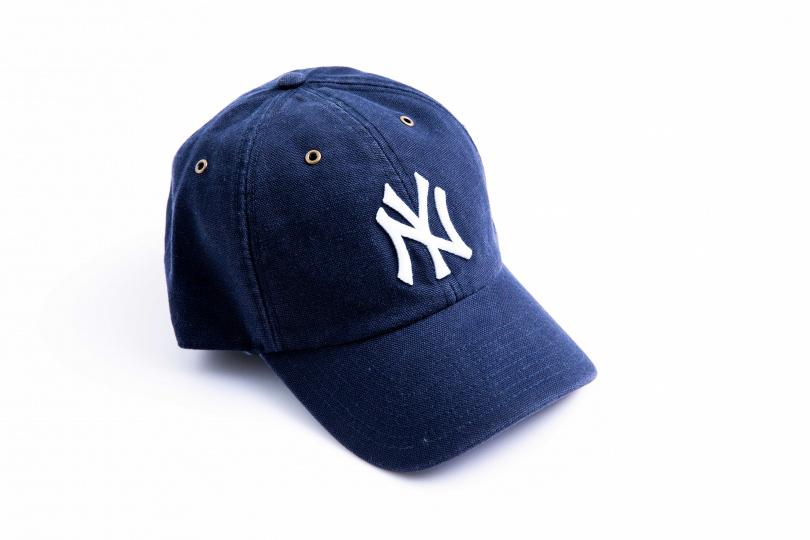 Carhartt X 47 Brand的聯名款棒球帽 $1600(圖/莊立人攝)