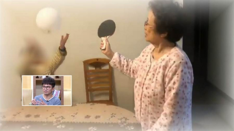 唐從聖分享讓媽媽利用乒乓球運動減緩失智症狀。(圖/年代提供)