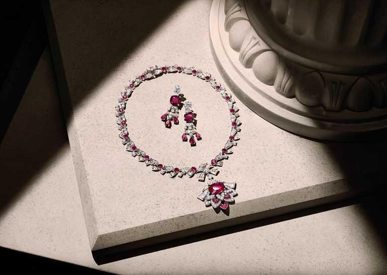BVLGARI頂級珠寶系列。(圖╱BVLGARI提供)