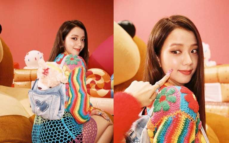 這件彩虹裙也引發粉絲們的討論,讓彩虹風成為流行(圖/IG)