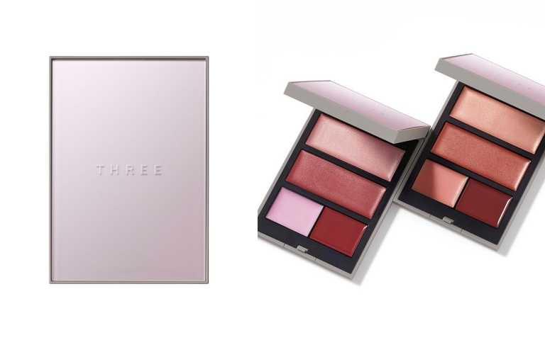 THREE 自由光燦唇頰盒全2色 #X01 #02【限定發售】各/2,400元(圖/品牌提供)