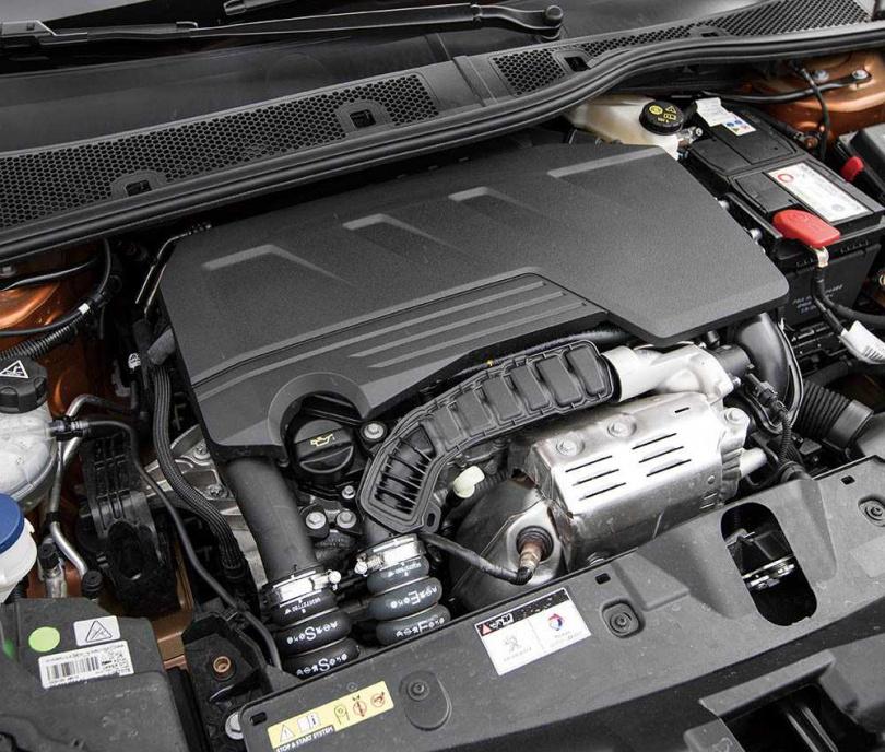 GT Cielo採用1.2升直列三缸引擎,卻擁有155匹的最高馬力。(圖/張文玠攝)