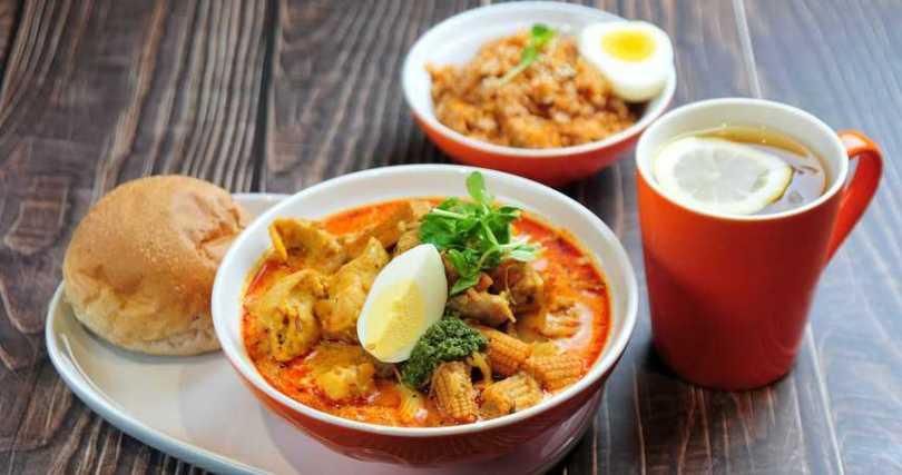 TSS新加坡Laksa湯。
