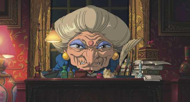 湯婆婆、錢婆婆將由為動畫版配音的夏木麻里出演。