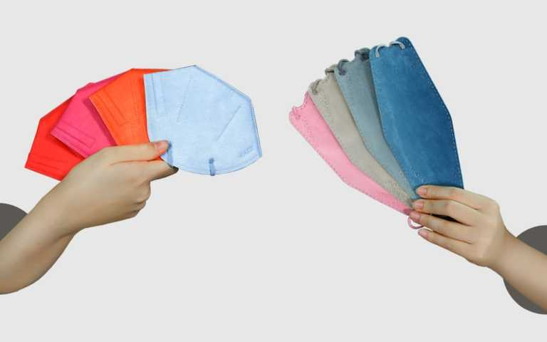 KAZE 經典造型Original 極致舒適透氣涼感口罩/1,200元(5入)、MASKLAB時尚夜幕芬馥漸層立體口罩系列/299(10入)(圖/品牌提供)