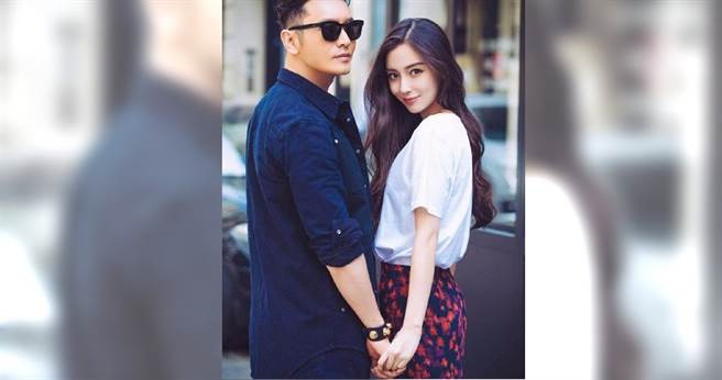 黃曉明與Angelababy結婚四年,傳出「官宣」離婚一事。(翻攝自新浪娛樂微博)