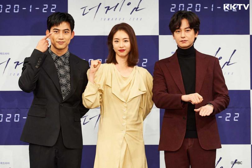 《The Game:倒數計時》由玉澤演(左起)、李沇熹、林周煥領銜主演。