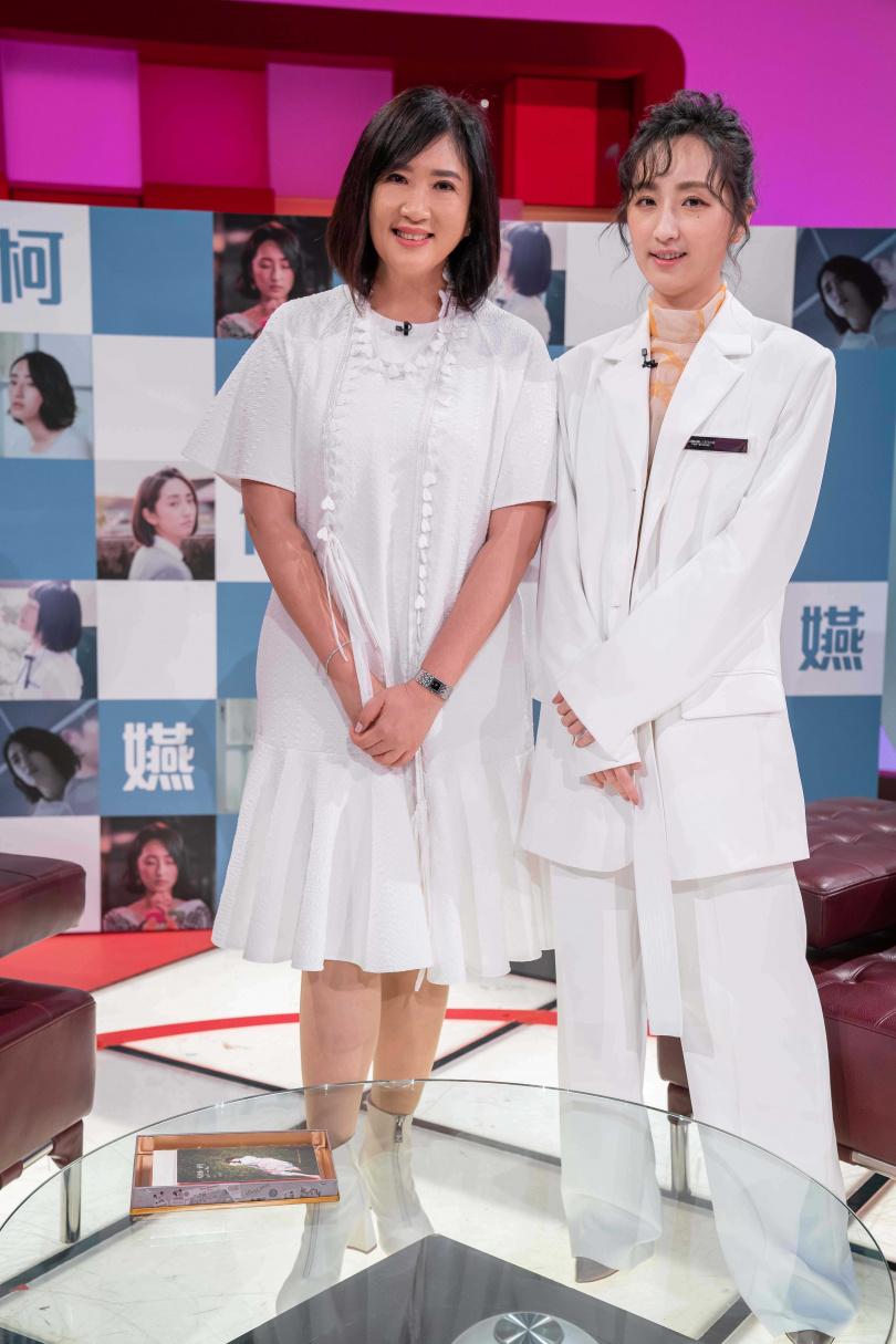柯佳嬿接受方念華專訪。(圖/TVBS提供)